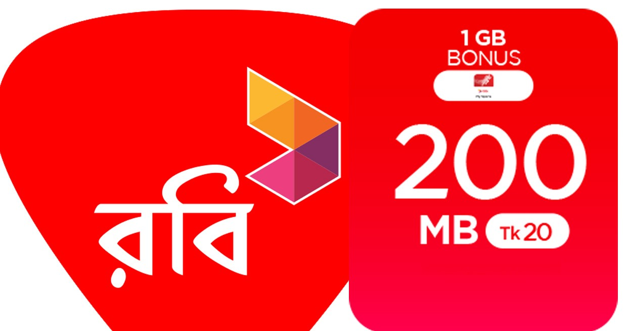 robi 20tk 200mb offer